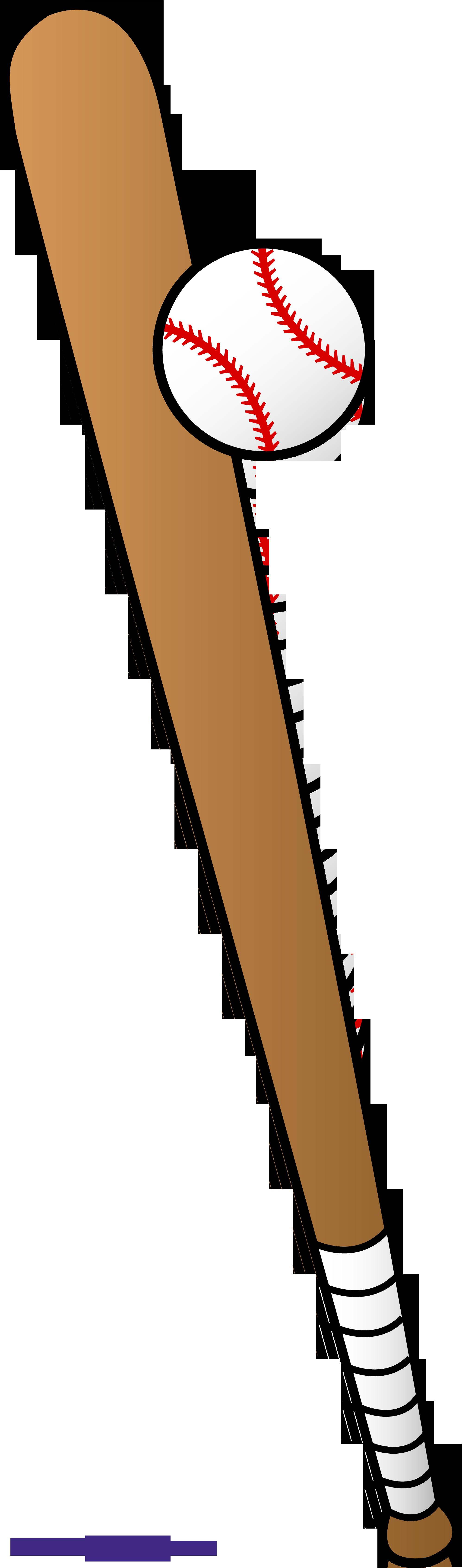 clipart bat bat ball