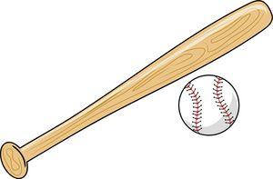 Images of bats and. Baseball clipart baseball bat