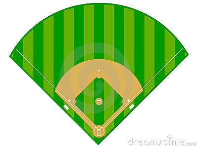 Baseball field panda free. Softball clipart softball diamond