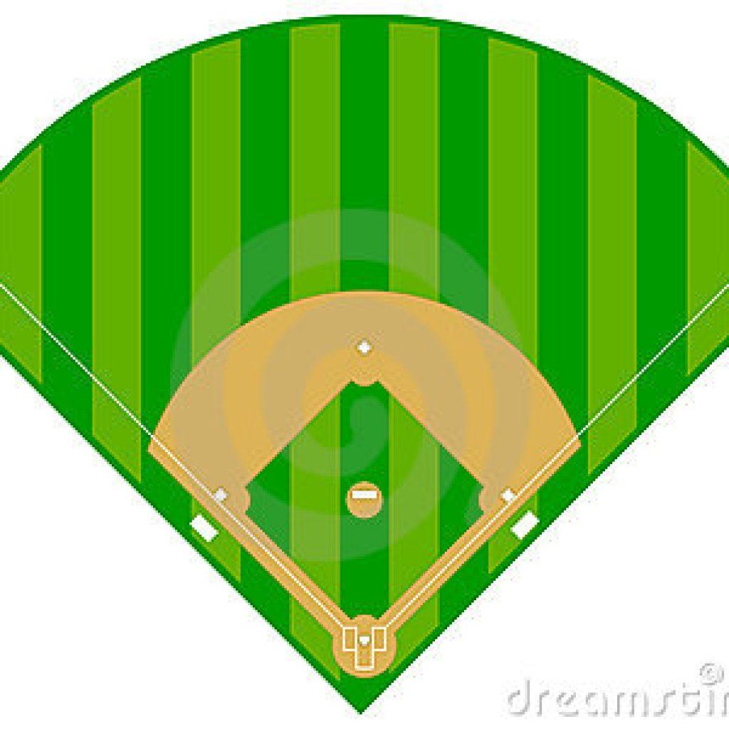 baseball clipart baseball field