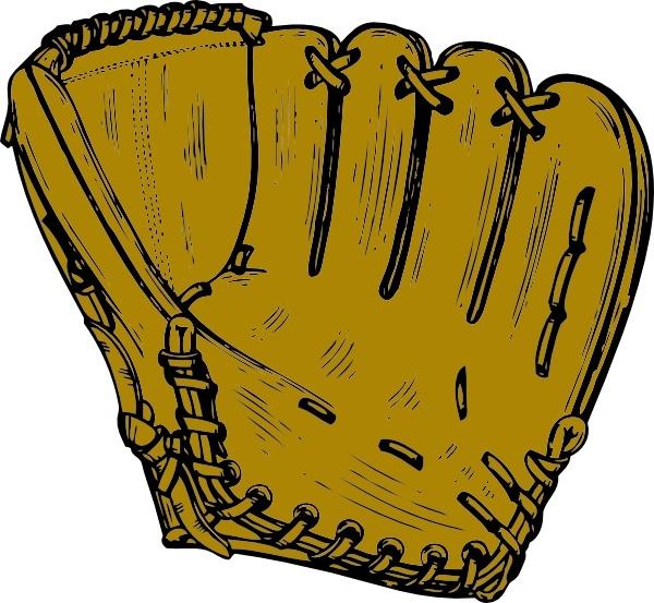 Baseball clipart baseball gear. Glove drawing at getdrawings