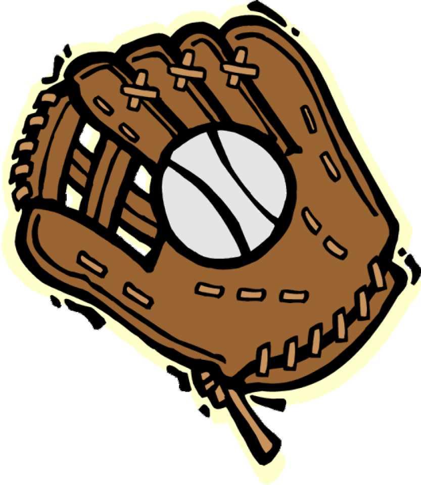 Glove object giant bomb. Baseball clipart baseball gear