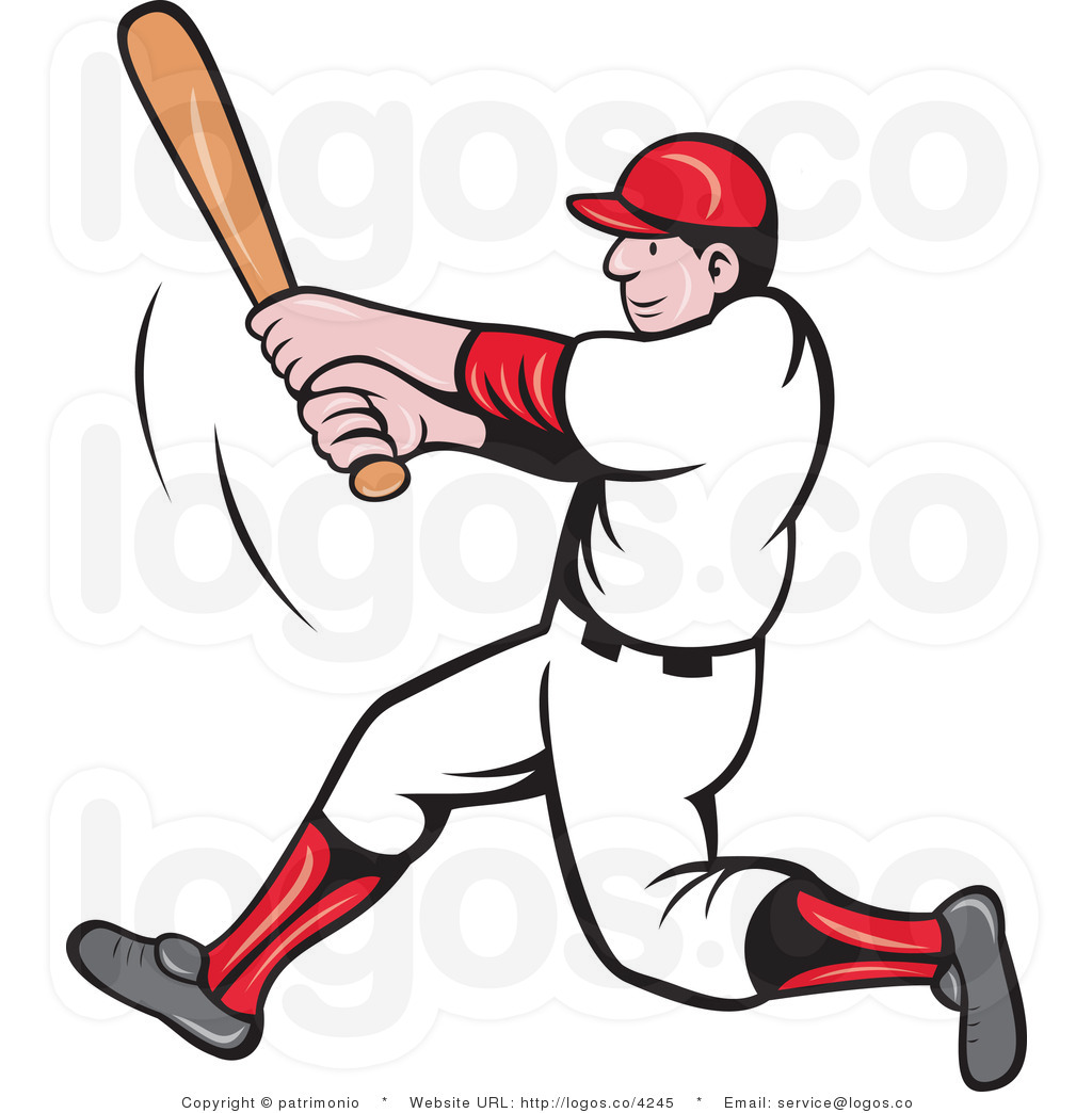 Baseball clipart baseball player.  collection of free