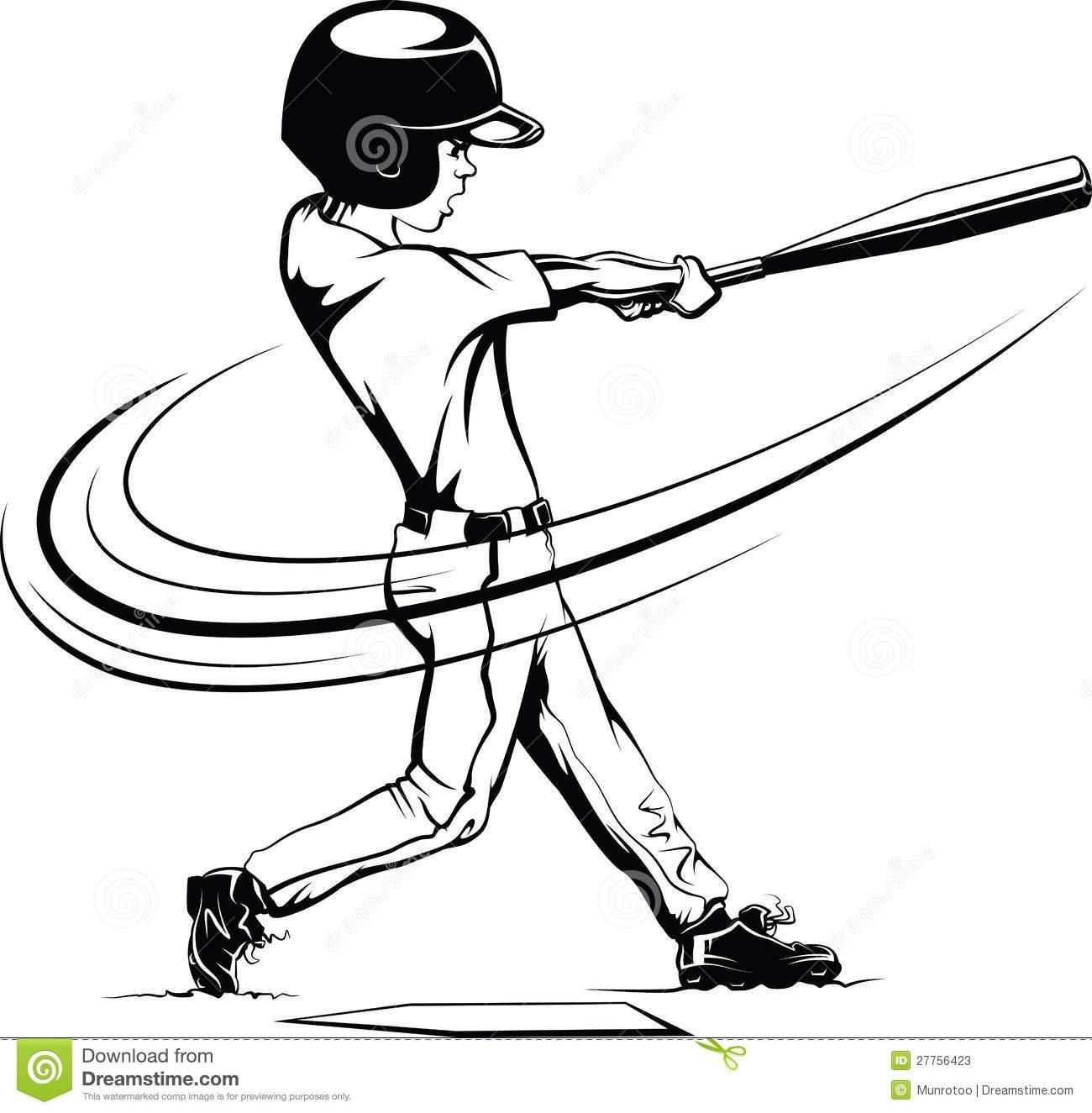 . Baseball clipart batting cage