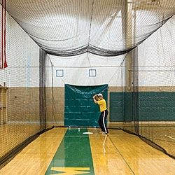 Baseball clipart batting cage.  best cages images