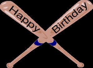 Clipart baseball birthday. Happy clip art library