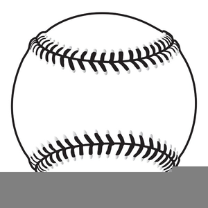 Free images at clker. Baseball clipart black and white