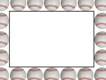 Free border download clip. Baseball clipart boarder