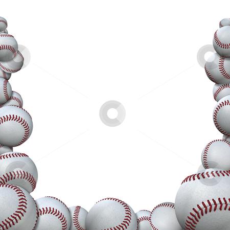 Baseball clipart border. No