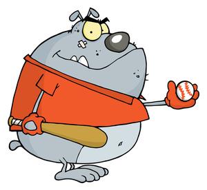 Image clip art illustration. Baseball clipart cartoon