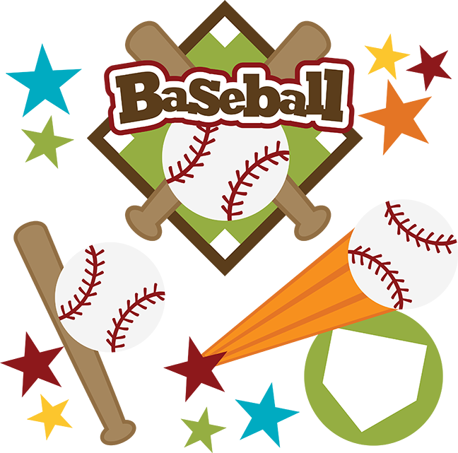 Svg scrapbook title files. Foods clipart baseball