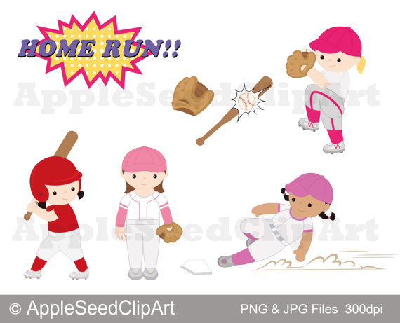 Baseball clipart cute. Player digital clip art