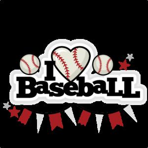 Baseball clipart cute. I heart title miss
