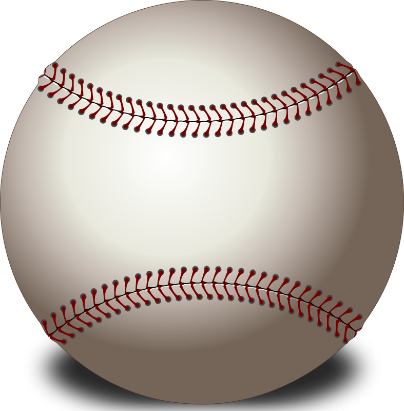 Food clipart baseball. Free stock photo illustration