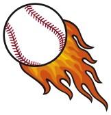 Ball in panda free. Baseball clipart home run