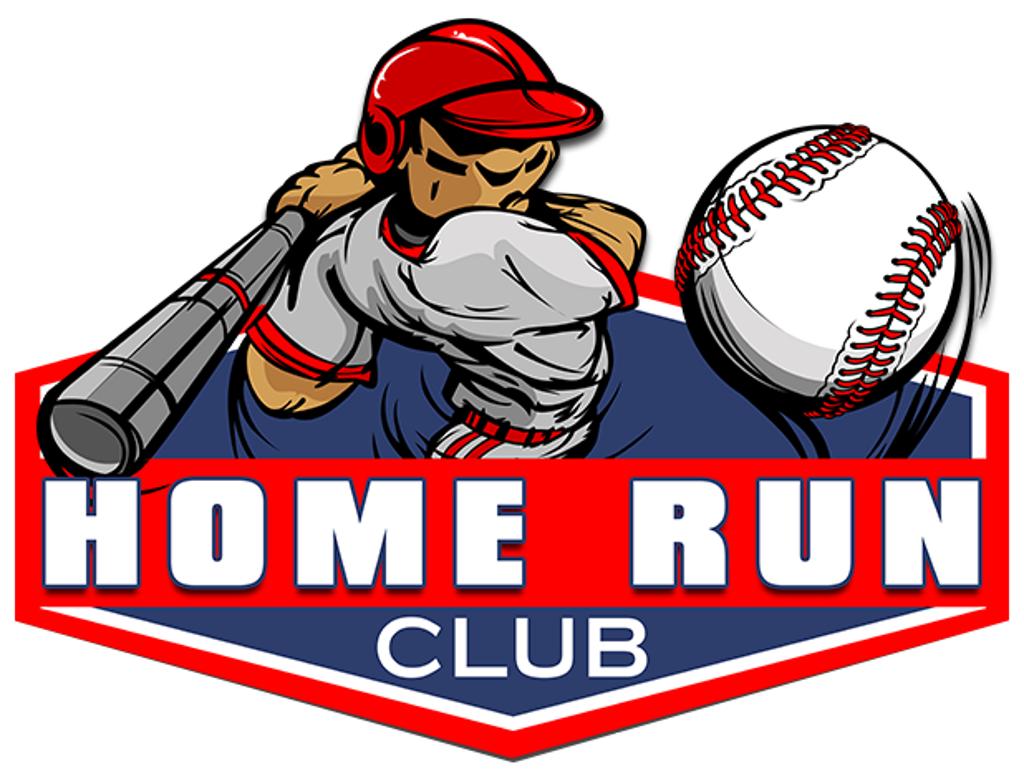 Club . Baseball clipart home run