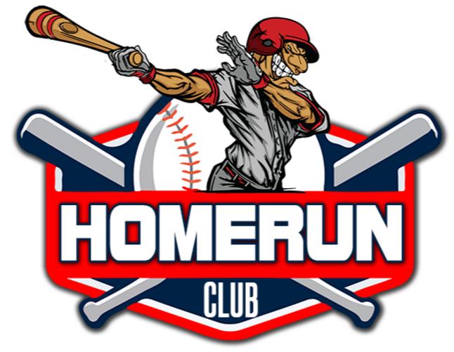Baseball clipart home run. Brick american club homerun
