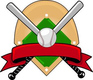 Diner . Baseball clipart home run