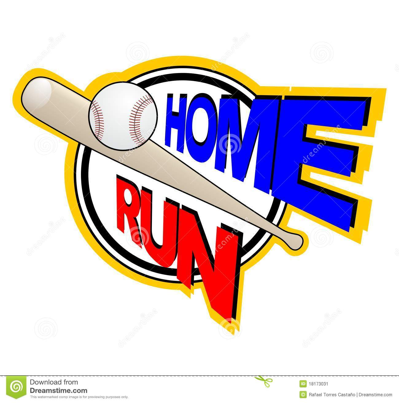 Baseball clipart home run. Best photos of clip