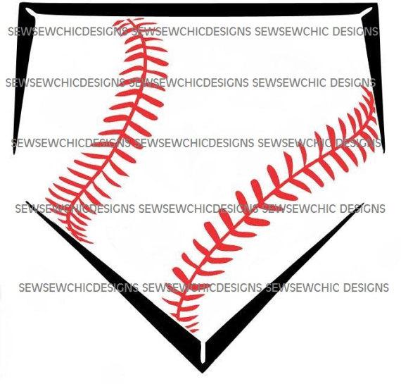 Home plate stripes svg. Baseball clipart homeplate