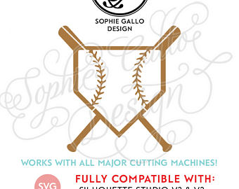 Baseball clipart homeplate. Home plate svg etsy