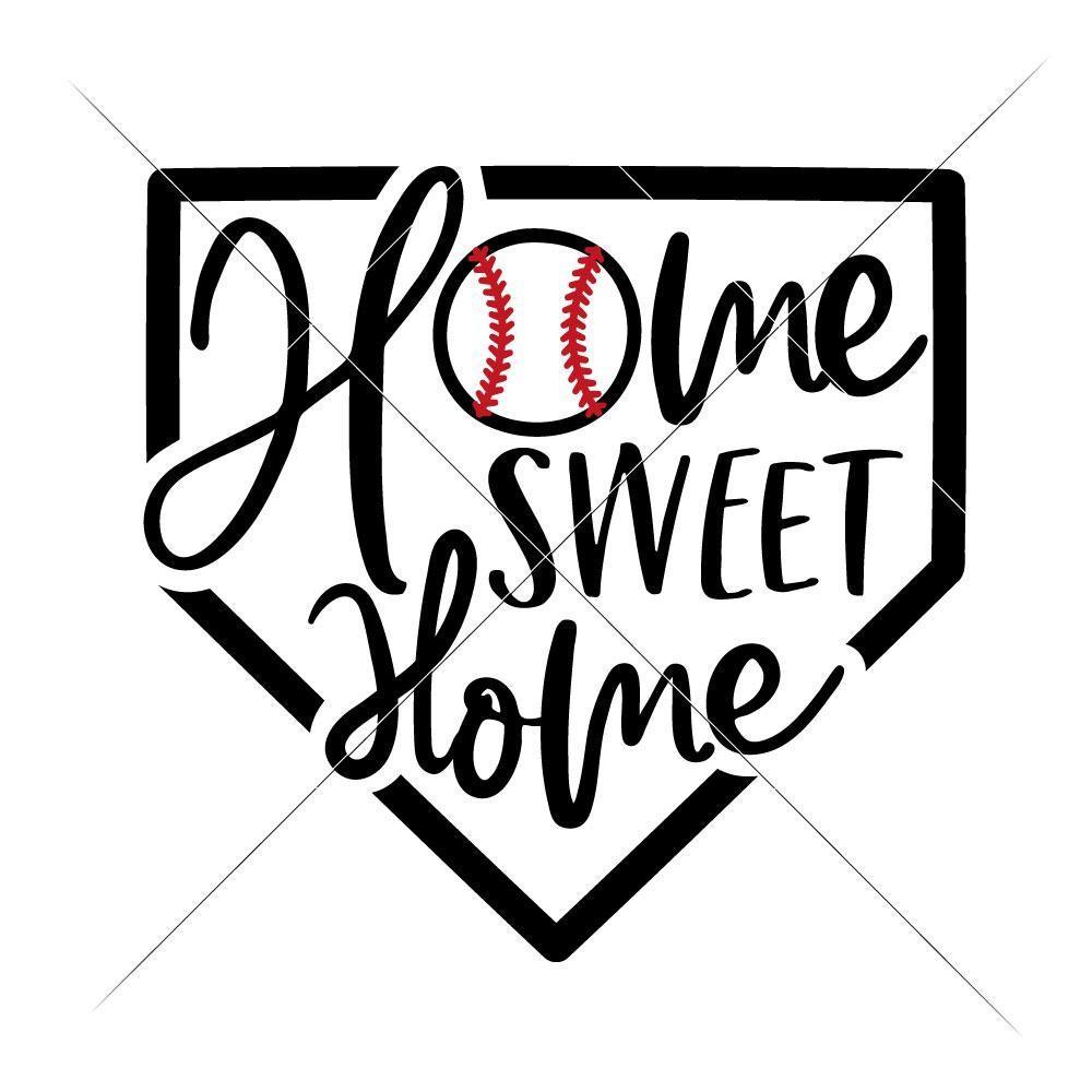 Baseball clipart homeplate. Home sweet plate svg