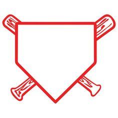 Baseball clipart homeplate. Softball ball and bat