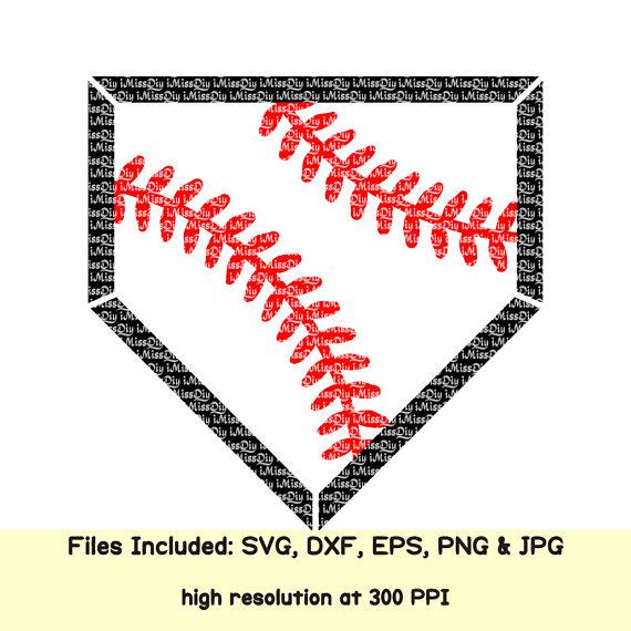 Baseball clipart homeplate. Home plate svg cheer