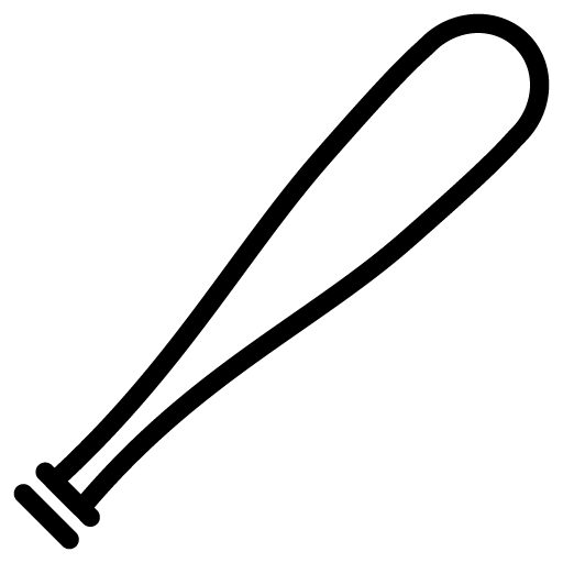 Baseball clipart icon. Bat png free icons