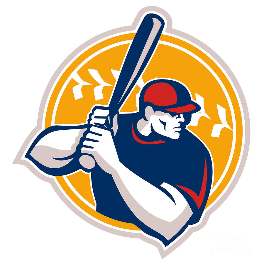Baseball clipart icon. Hitter silhouette at getdrawings