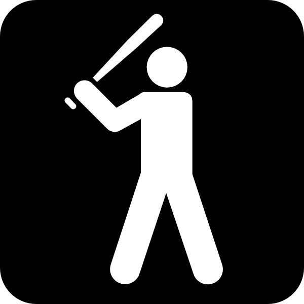 Baseball clipart icon. Field clip art at