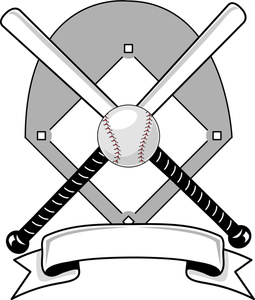 Image grayscale of icons. Baseball clipart icon