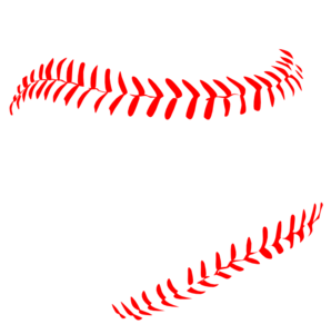 Red laces clip art. Baseball clipart lace