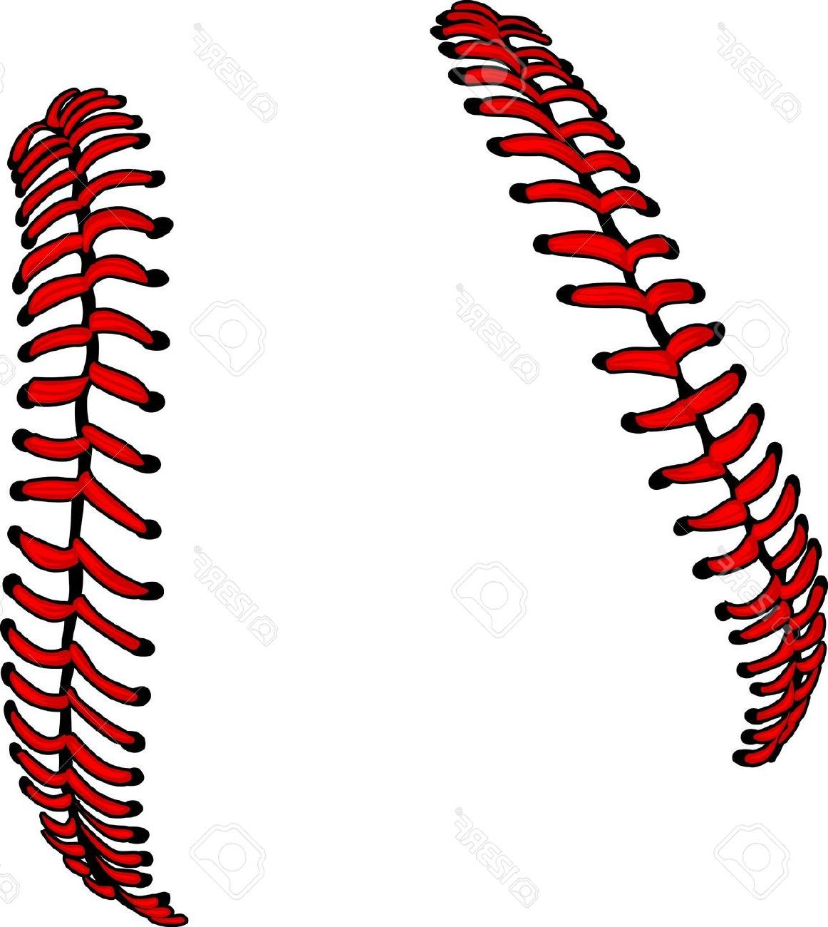 Baseball clipart lace. Best free pictures vector