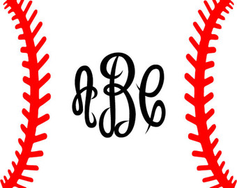 Baseball clipart lace. Instant download laces softball