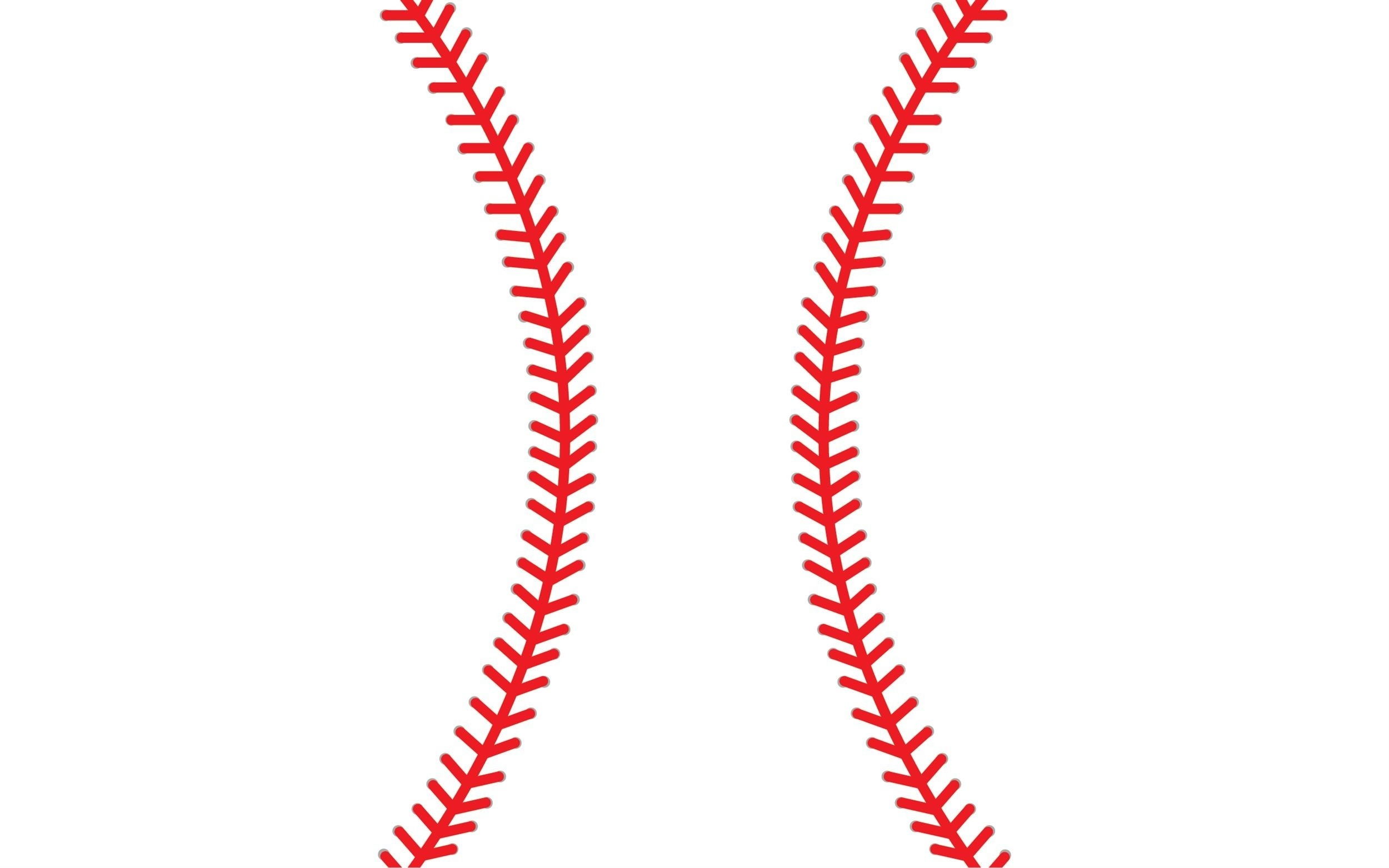 stitching vector images. Baseball clipart lace