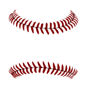 Baseball clipart lace. Red stitches royalty free