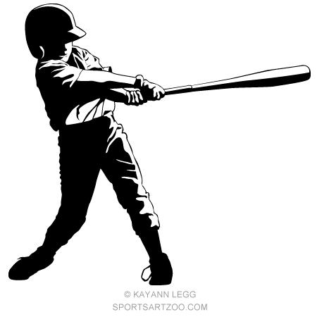 Baseball clipart little league baseball. Hitter designs