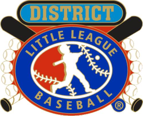 district pin dph. Baseball clipart little league baseball