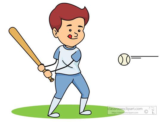Player hitting littleleagueplayerhittingbaseballjpg. Baseball clipart little league baseball