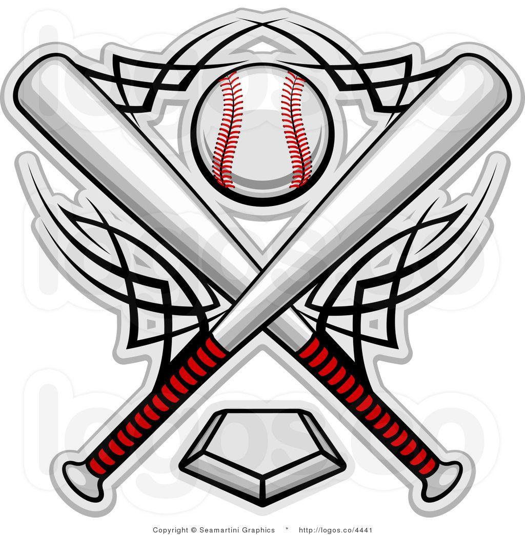 Baseball clipart logo. Free clip art royalty
