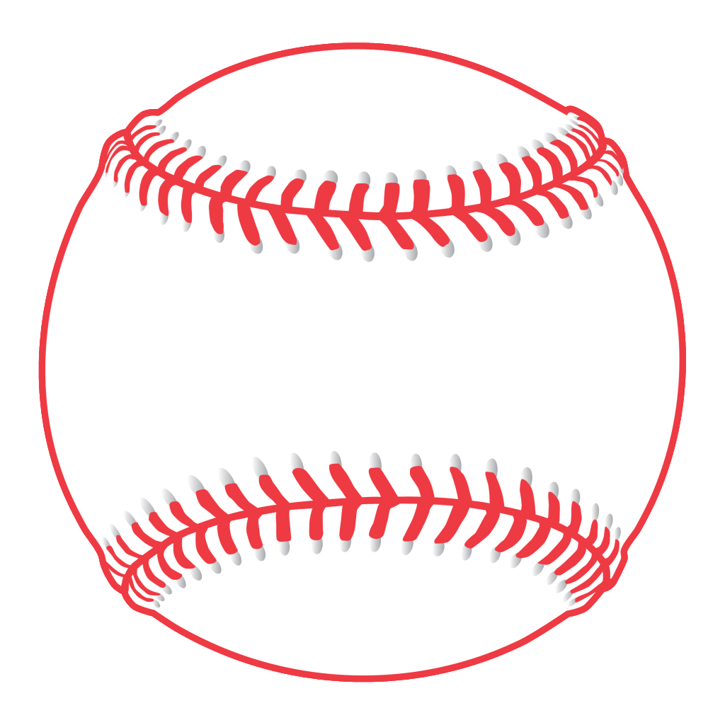. Numbers clipart baseball