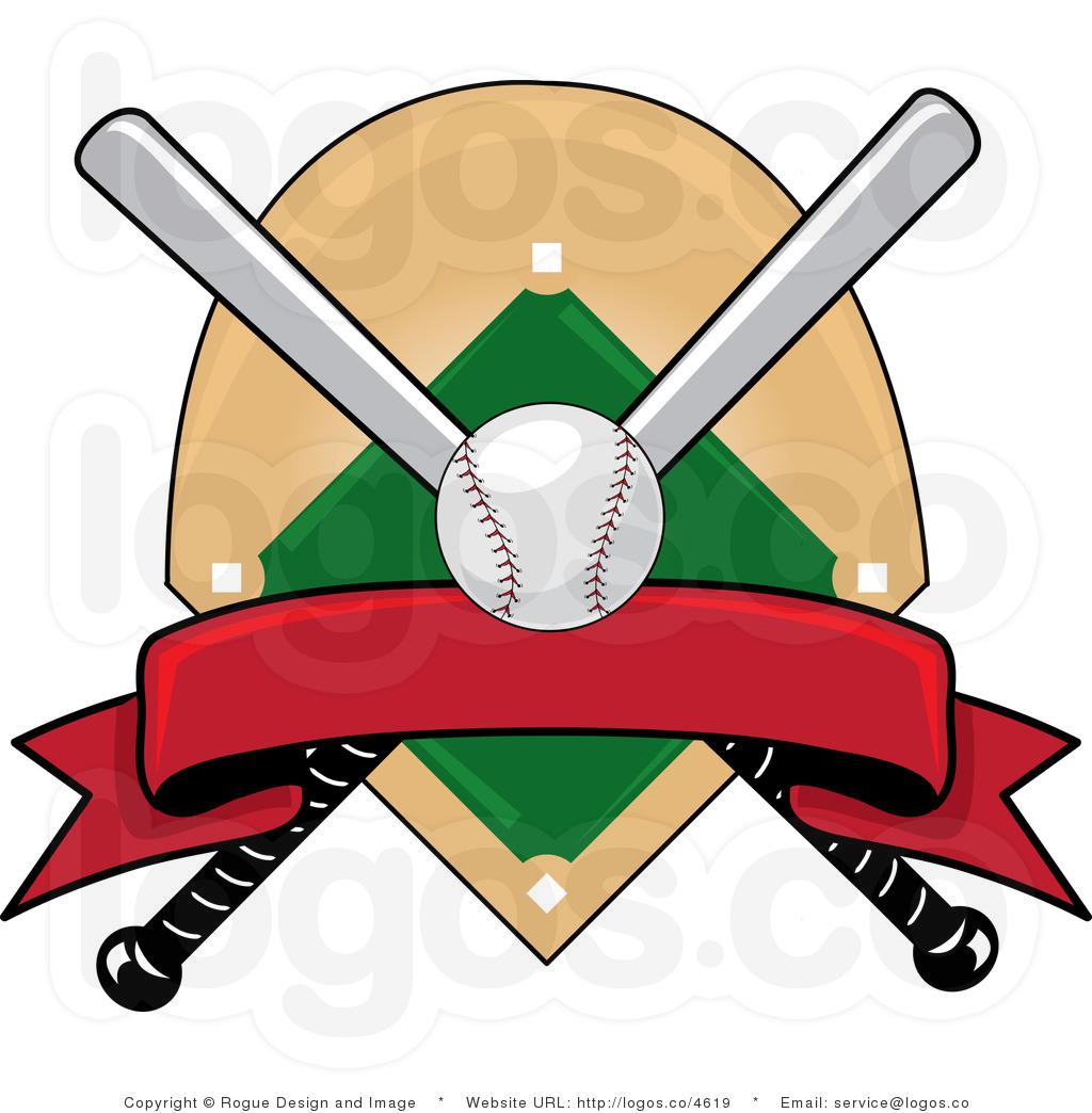 Logos free . Baseball clipart logo