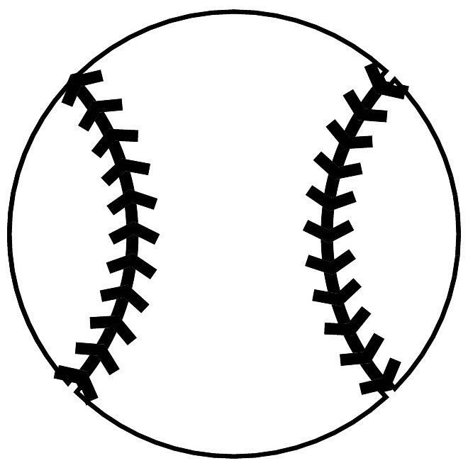 Free cliparts download clip. Baseball clipart outline