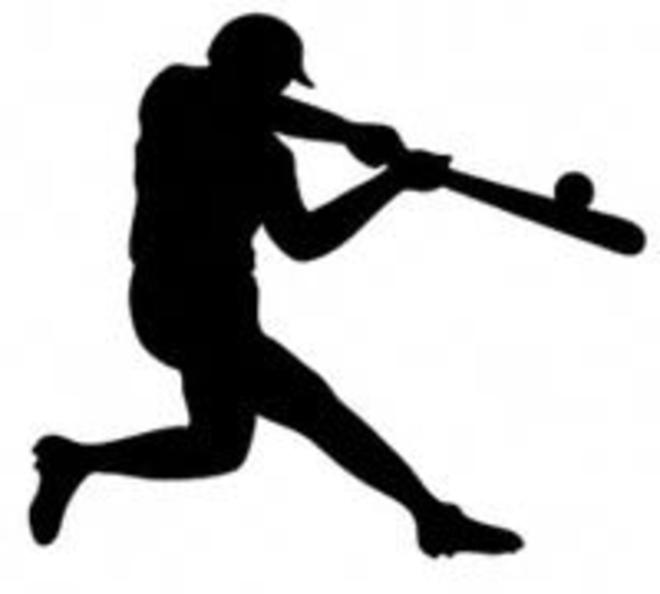 Baseball clipart silhouette. Free images at clker