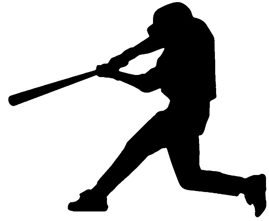 Free cliparts download clip. Baseball clipart silhouette