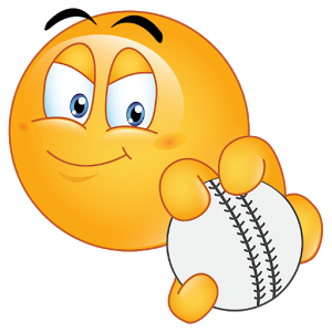 Baseball clipart smiley face. Pin by rama martin