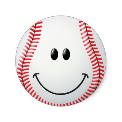 Baseball clipart smiley face. Clip art
