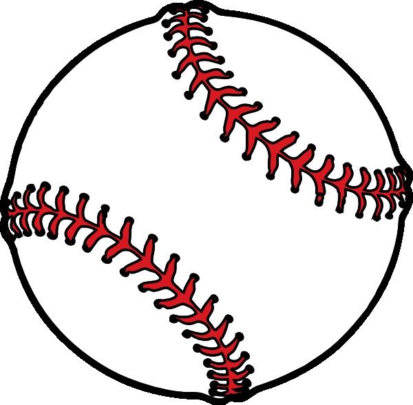 Thick boarder clip art. Baseball clipart vector