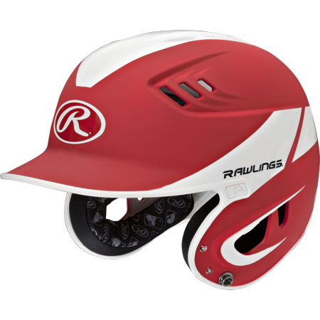 Rawlings velo senior away. Baseball helmet png